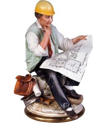 Фарфоровая скульптура «Principe. Инженер»
