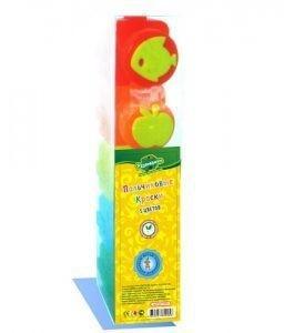 Пальчиковые краски (5 цветов, штампики)