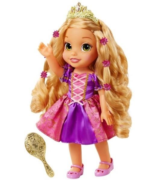Кукла Рапунцель со светящимися волосами