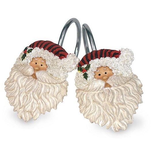Набор из 12 крючков для шторки Traditional Santa