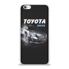 Силиконовый чехол для Apple iPhone 6Plus/6SPlus Toyota Drive