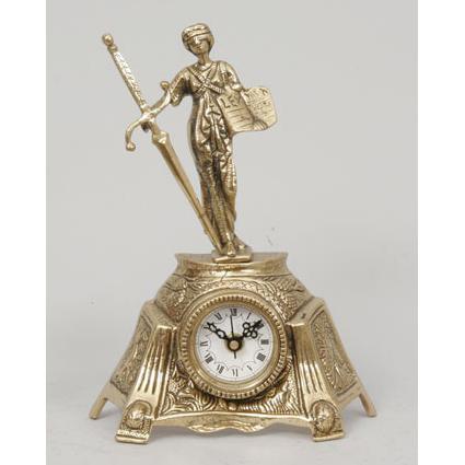 Часы-фигура из бронзы Virtus «Фемида»