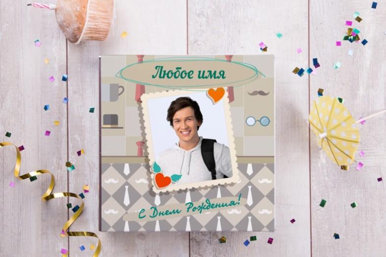 Бельгийский шоколад в подарочной упаковке Его праздник
