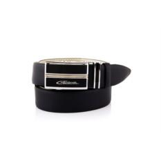 Черный мужской кожаный ремень тип 82950095