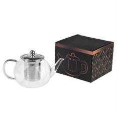 Чайник заварочный с ситечком Любимый напиток