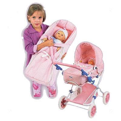 Кукольная коляска-трансформер