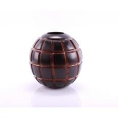 Резная деревянная ваза Кокос
