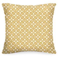 Декоративная подушка «Золотой узор»