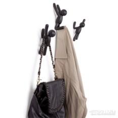Черные вешалки-крючки Вuddy