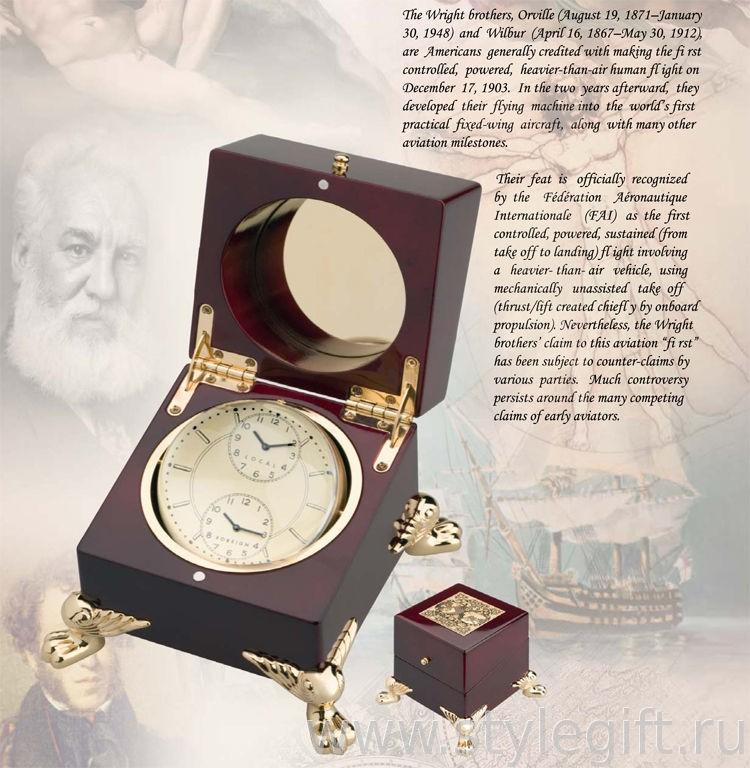 Настольные часы Wright Brothers