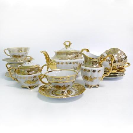Сервиз чайный  «Золотая роза»