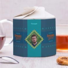 Чайный набор Настоящему другу 2 с вашим фото