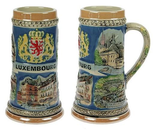 Коллекционная керамическая кружка Люксембург