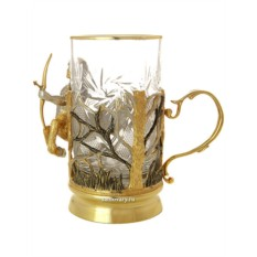 Позолоченный чайный набор Стрелец