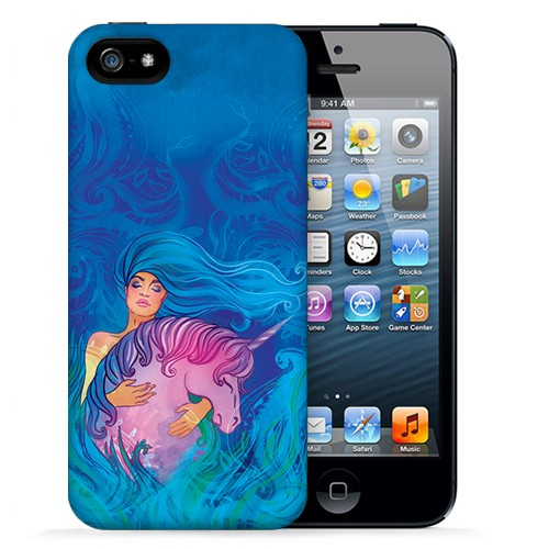 Чехол для iPhone 5/5s Fantasy Unicorn
