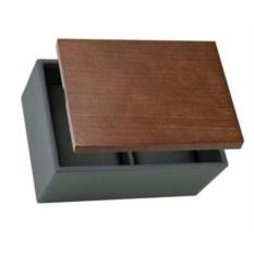 Серо-коричневая шкатулка для хранения часов LC Designs