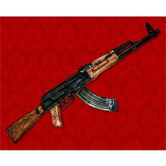 Штоф подарочный «Автомат Калашникова АК-47»