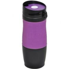 Вакуумная фиолетовая кружка Удача