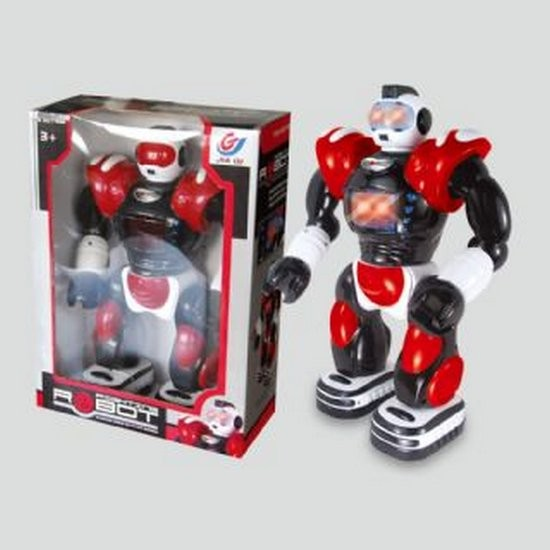 Электромеханический робот-воин