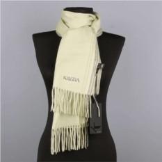 Зимний зеленый шарф из кашемира Krizia