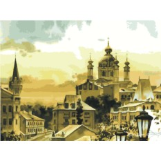 Картины по номерам «Андреевская церковь»