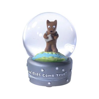 Подарочный стеклянный шар