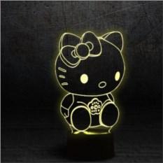 3D Светильник Hello Kitty