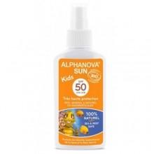Детское солнцезащитное молочко БИО SPF 50+ ALPHANOVA SUN