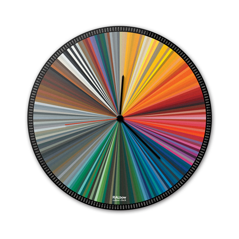 Настенные часы Rainbow
