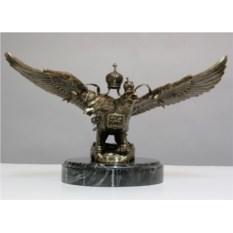 Статуэтка из бронзы Двуглавый орел