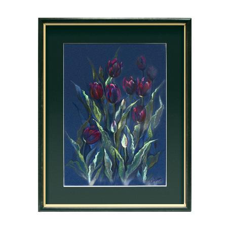 «Тюльпаны». Эксклюзивная авторская картина