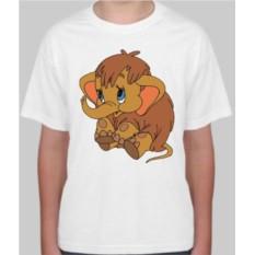 Детская футболка Мамонтенок