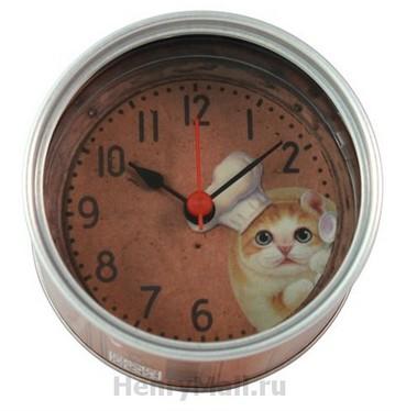 Часы на магните в виде консервной банки Миго