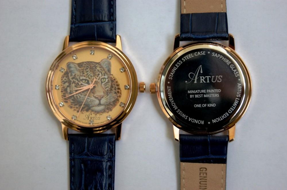 Часы Леопард