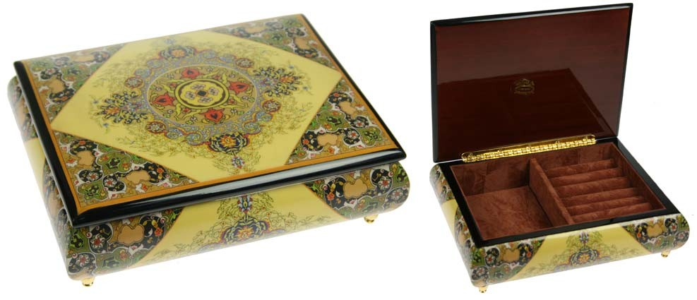 Шкатулка для ювелирных украшений Mercante, 22х17х7см
