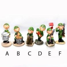 Декоративная фигурка на подставке Солдат
