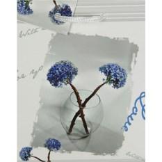 Бумажный ламинированный пакет Цветы в вазе