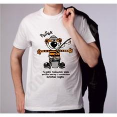 Мужская футболка Размер пойманной рыбы...