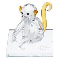 Хрустальная фигурка Желтая обезьяна