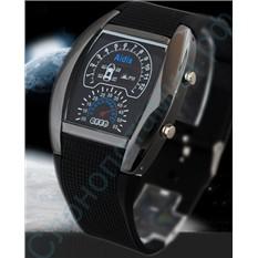 Водонепроницаемые наручные часы Led Watch Sport Car Aidis