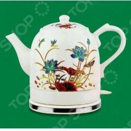 Чайник керамический Великие реки «Малиновка-6»