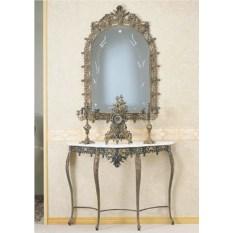 Зеркало из бронзы Король