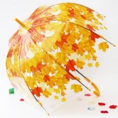 Зонт-трость Желтые листья