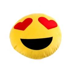 Подушка-мнушка Влюбленный смайл