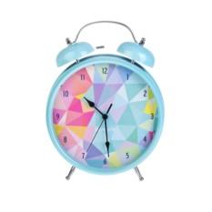 Настольные часы с будильником Калейдоскоп