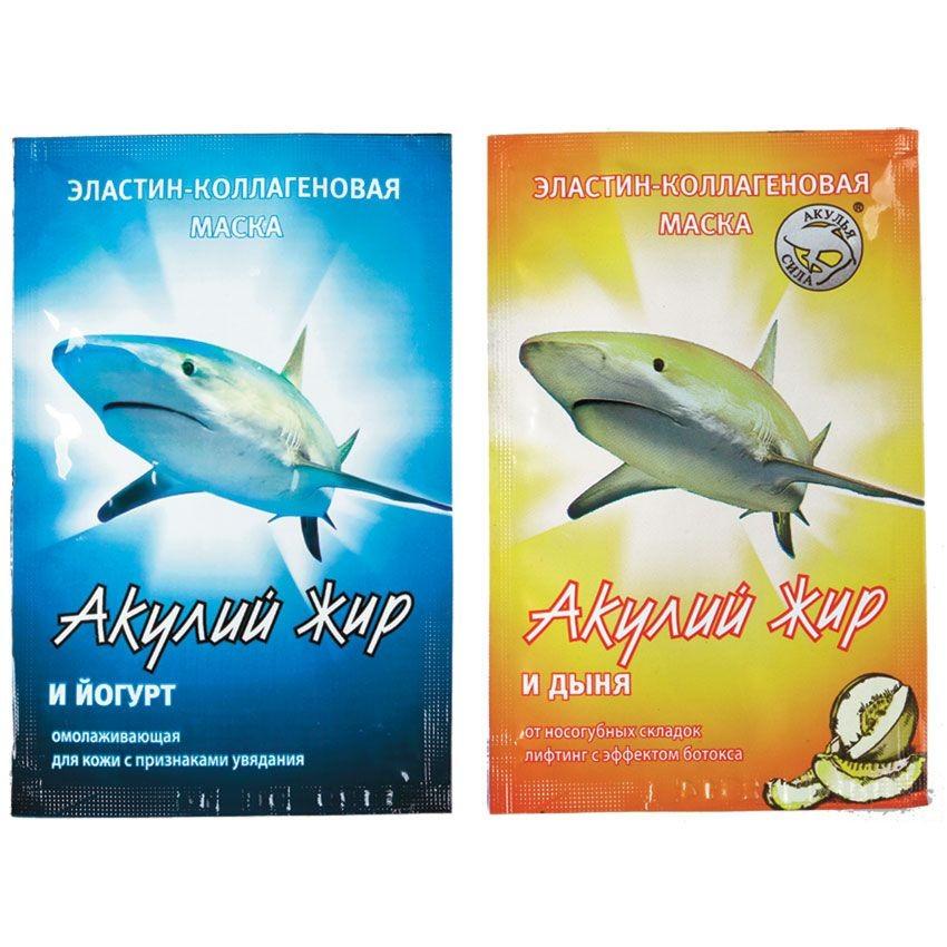 Маска Акулий жир (Акулий жир и йогурт)