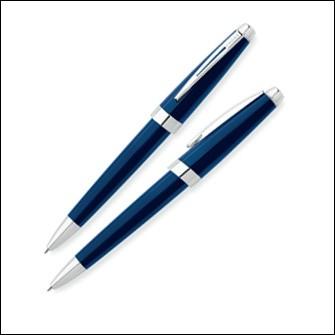 Шариковая ручка Cross Aventura, цвет: синий