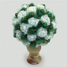 Цветы из малахита Малахитовый букет
