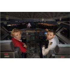 Сертификат Полет 1 час на авиатренажере Боинга