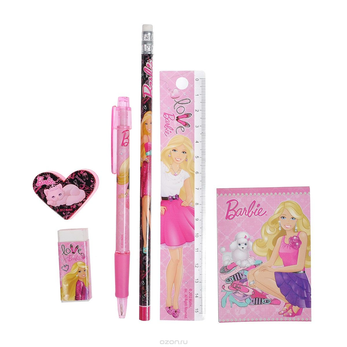Канцелярский набор Barbie